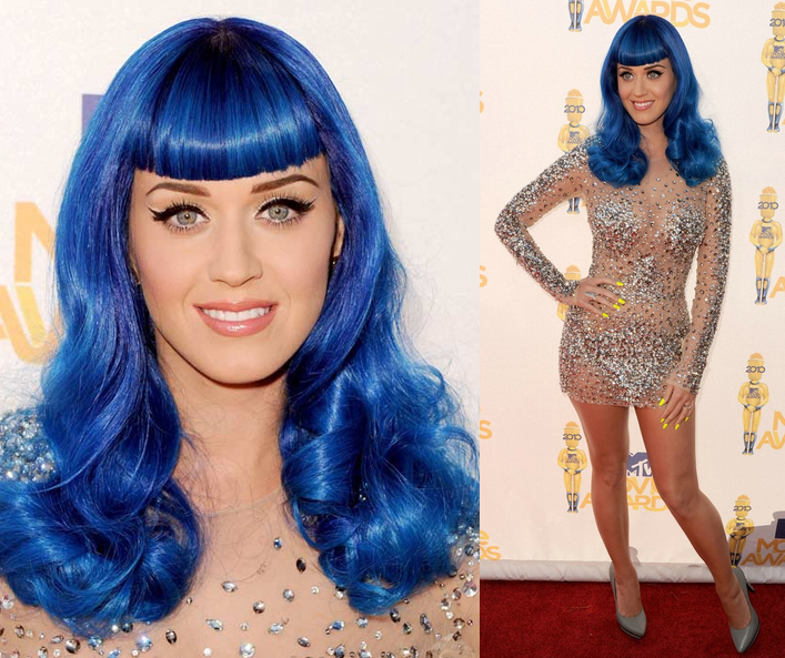Electric Blue Hair. your electric blue hair,