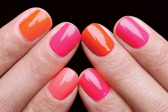 Bright Nail Polish For Summer1 The latest trends in Summer nail art