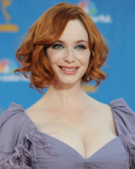 christina hendricks boyfriend. Christina+hendricks+hair