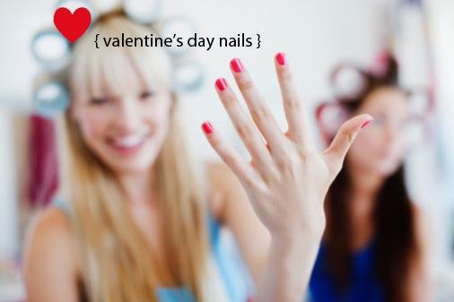 valentine nail designs. and cute nail designs.