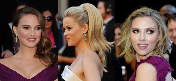 scarlett johansson hair 2011 oscars. Oscar Hair How-To: Natalie